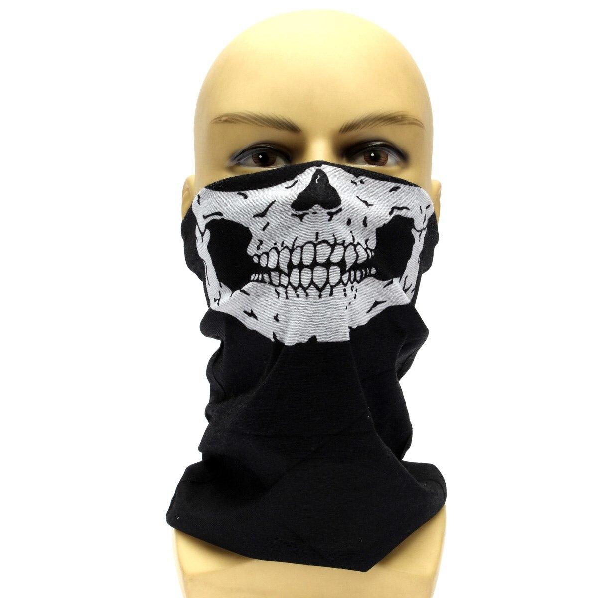 biker masks uk popular bike 2017. 2 ghost biker skull hood face ...