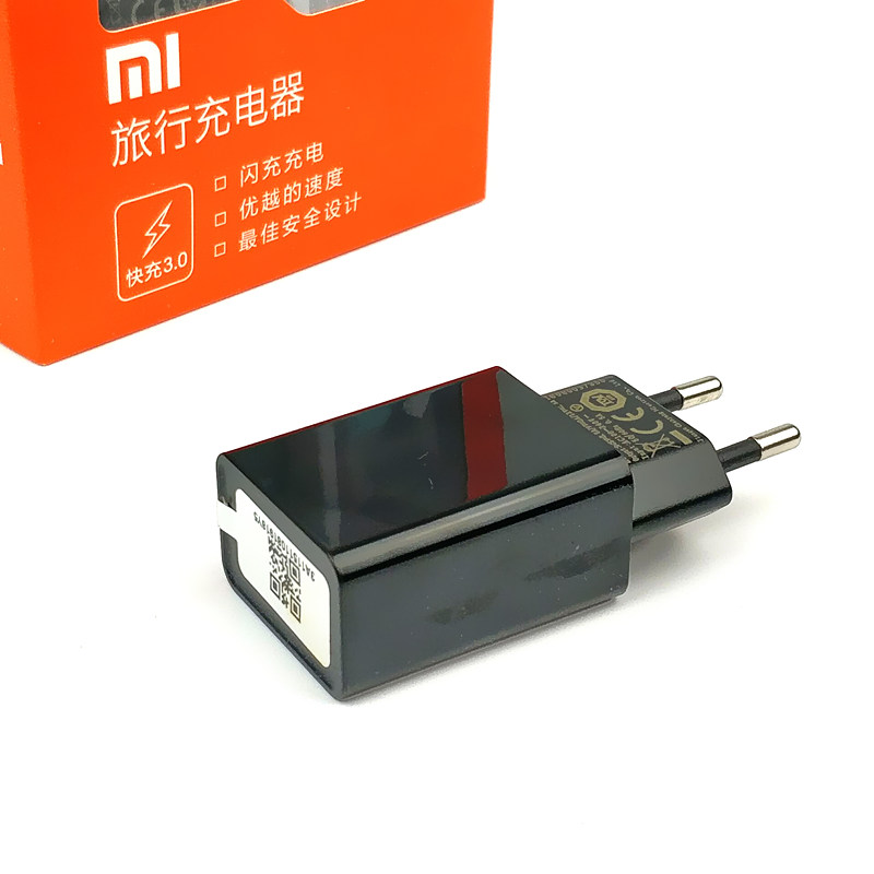Original EU xiaomi mi a1 Charger Qualcomm Quick Charge 3.0 Fast Charger Connect usb type C cable for mi 5 5s mi5 mi5s a2 5a