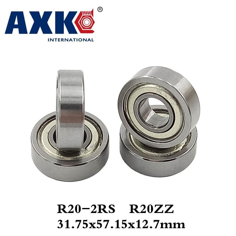 Axk 1pcs R20-2rs R20zz Ee11zz Deep Groove Ball Bearing 31.75x57.15x12.7mm Inch Miniature Bearing Abec3 gcr15 6326 zz or 6326 2rs 130x280x58mm high precision deep groove ball bearings abec 1 p0