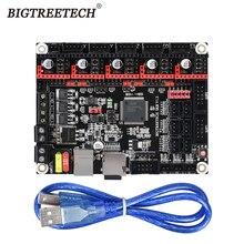 BIGTREETECH СКР V1.3 ARM 32 бит 3D-принтеры плата контроллера Smoothieboard с открытым исходным кодом материнская плата как плата MKS GEN L