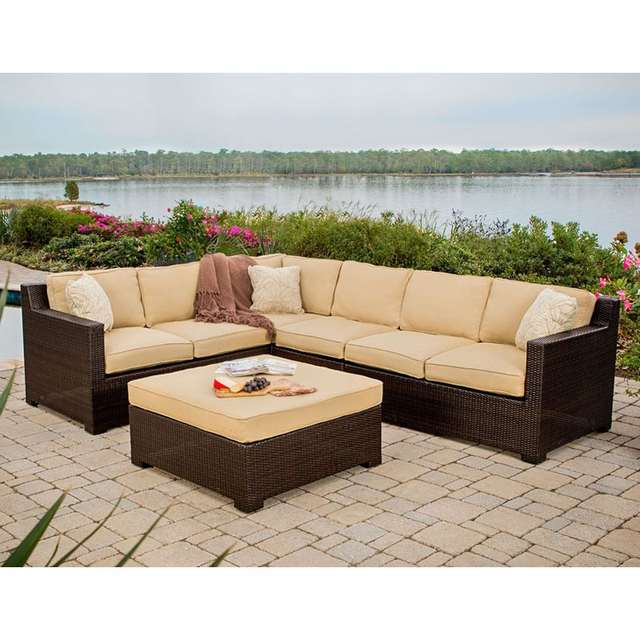 US $879.0 |Leisure used patio rattan furniture philippines corner sofa-in  Garden Sofas from Furniture on Aliexpress.com | Alibaba Group