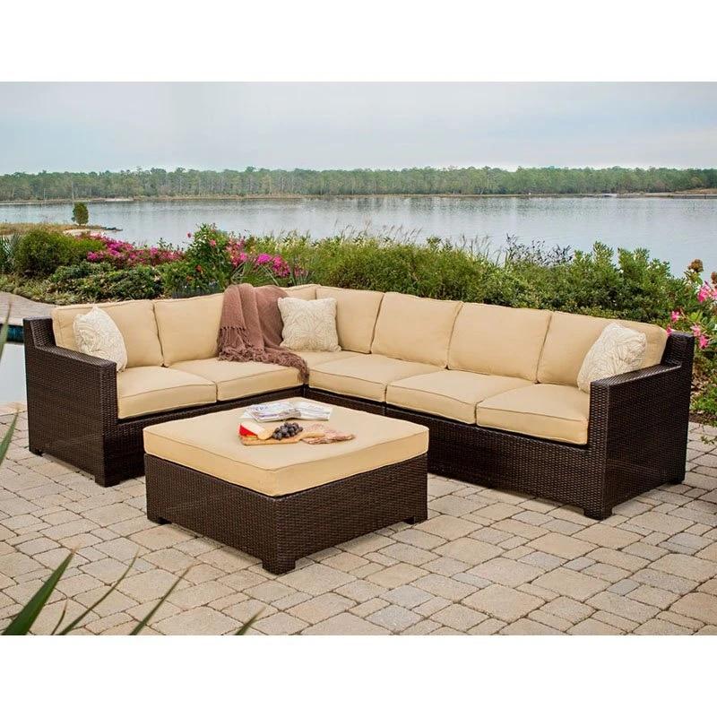 leisure used patio rattan furniture philippines corner sofa