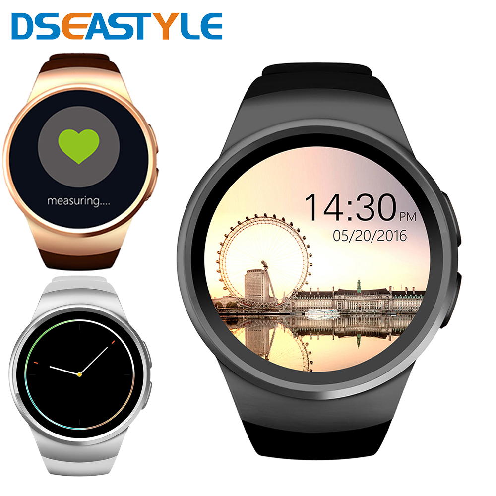 Hot Kw18 Bluetooth Smart Watch SmartWatch Phone support SIM TF Card Fitness wristwatch for apple samsung