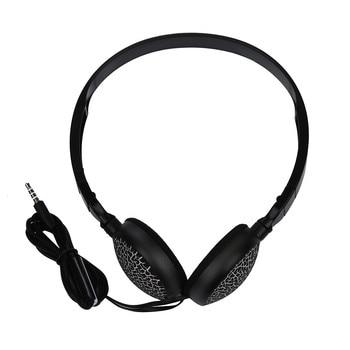 3.5MM Port Children Wire Headphones On Ear Foldable Stereo Headset For Earphon