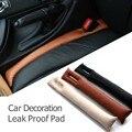 2 pçs/lote prático assento de carro carro acessórios PU couro Gap preenchimento Seam Plug decoração Car abertura Leak Pad prova frete grátis