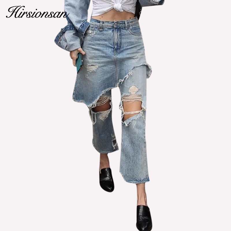 High Waist Jeans Womens