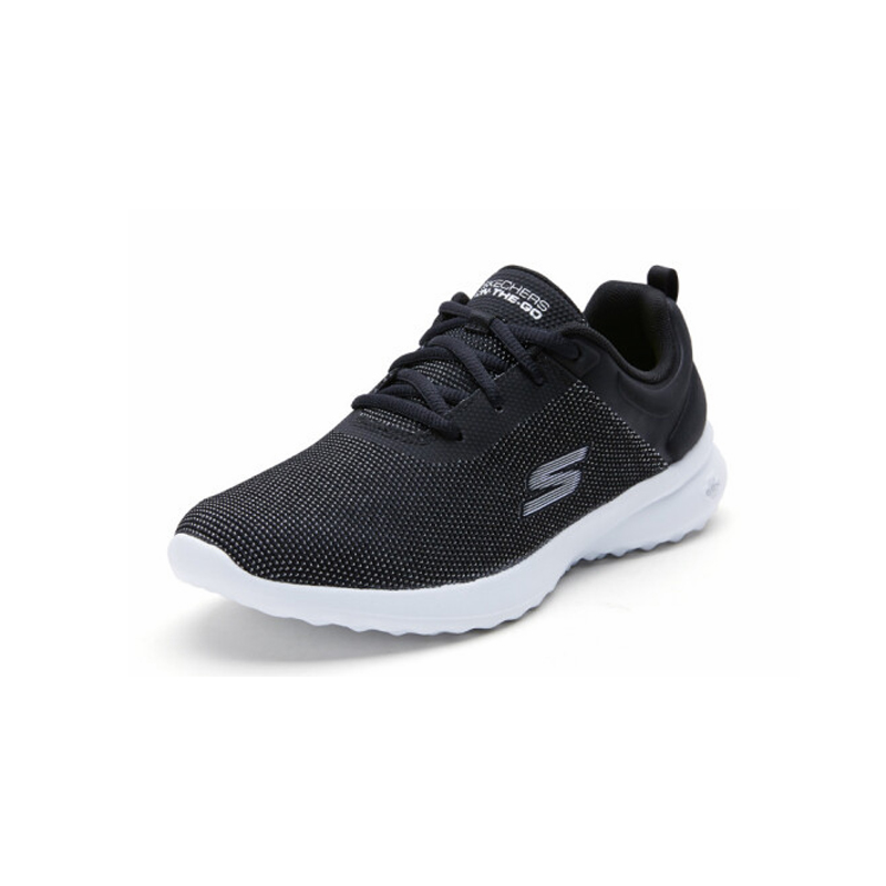 Skechers Shoes Woman Casual Shoes Comfortable Breathable Walking Women Shoes Trainers Brand Luxury Shoes Women 14763 BKW - 4
