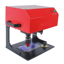 Table Type Nameplate Pneumatic/Electric Marking Machine for Truck Metal fitting nameplates 200W 170*110mm JMB-170