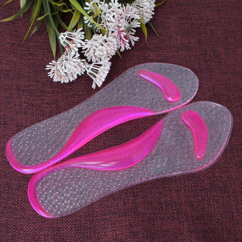 New Fashion Good Quality Hot High-Heels Insoles Non-Slip Silicone Gel Pads Arch Metatarsal Massage Support 4 Colors Women orthotic arch support gel pads non slip pain relief shoes insoles high heels silicone gel forefoot gel pads 1 pair ais646