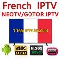 1 год NEOTV PRO H265 1 год подписки Android tv box APK m3u Smart tv арабский французский TV Belguim IPTV код 1200 каналов в режиме реального времени