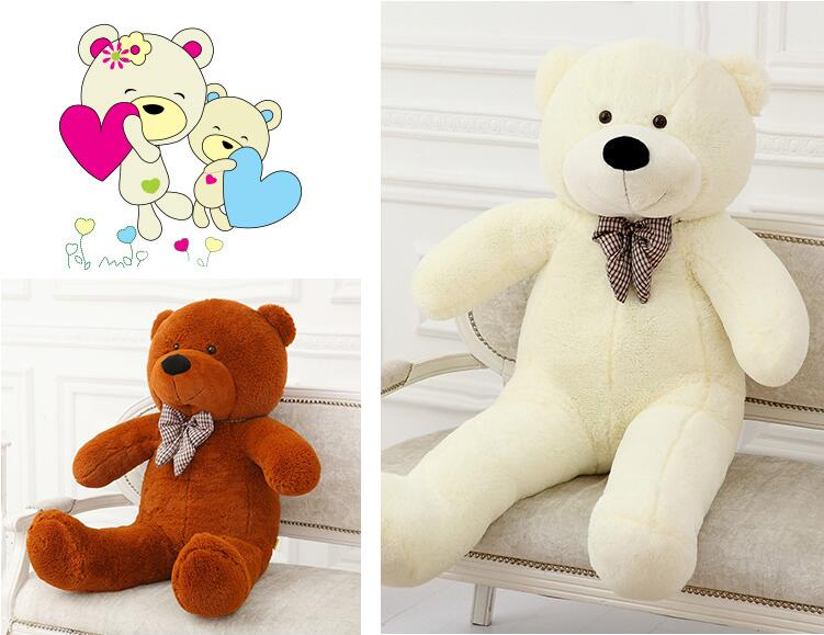 100cm Plush toys large size 1m / teddy bear big 4 colors embrace doll /lovers/christmas gifts birthday gift