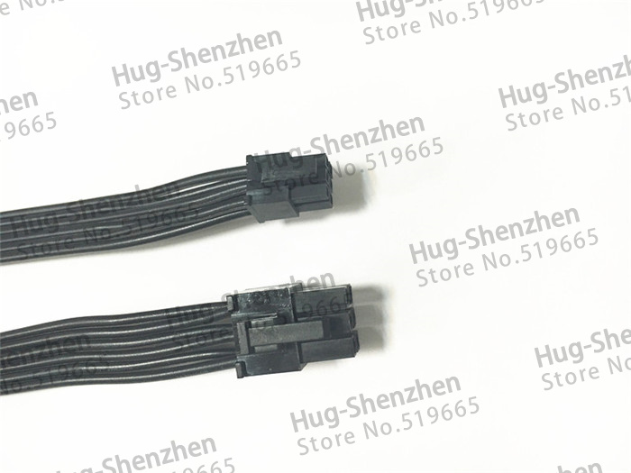 Купить с кэшбэком High quality mini 6pin male to pcie 6pin male video card 6 pin to 6 pin power cable for Mac Pro G5 GTX680 GTX480---100pcs/lot