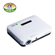 Todos Ganan A90 de Memoria 1G + 8G Inteligente Android 4.4 DLP TV LED proyector 3D Full HD de Cine En Casa Proyector De Vídeo Con A7 1.5GH CPU