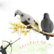 Голубь птица окрашенная приманка оболочка на открытом воздухе стрельба охота приманки Приманка инструмент охотничьи приманки садовая птица отпугиватель Scarer пугало