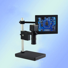 With 7-inch display digital video microscope 100 times the magnification of electronic diagnostic PCB Hardware welding