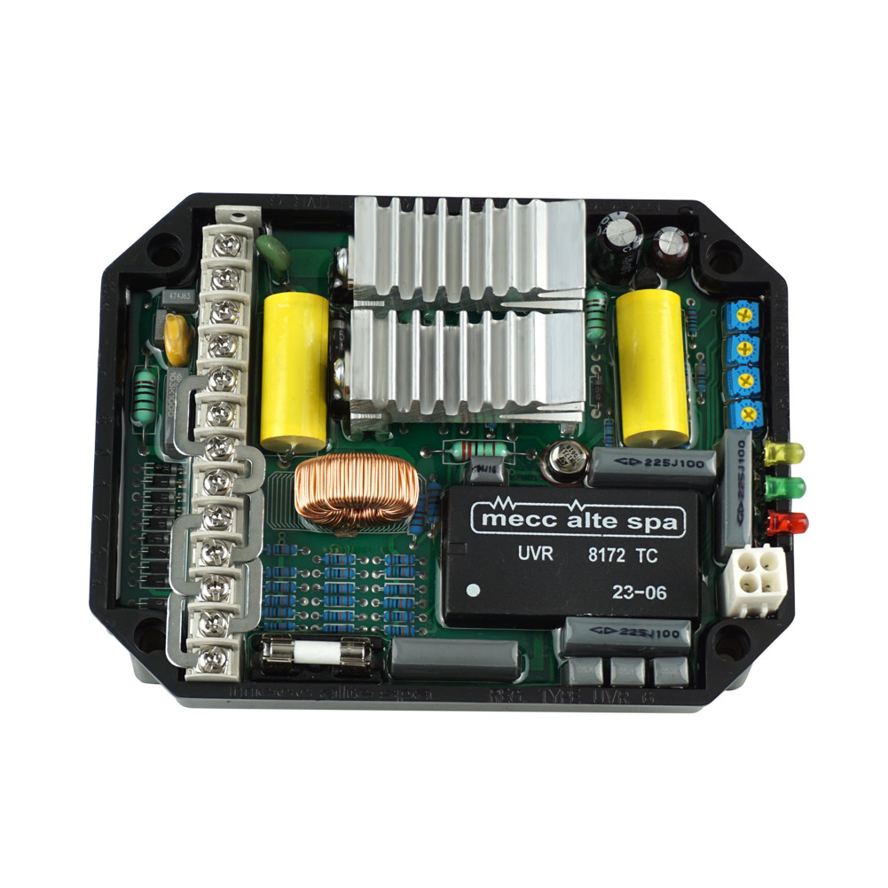 1Pc Automatic Generator Voltage Component  AVR UVR6 Dynamo Regulator JDH991Pc Automatic Generator Voltage Component  AVR UVR6 Dynamo Regulator JDH99