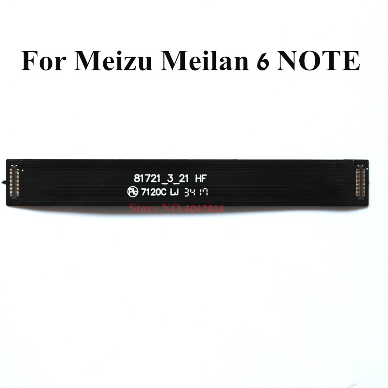 5 pcs New Original Mainboard connection Flex cable For Meizu Meilan 6 Note M6 Note Data connector line Replacement spare parts