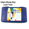 Envío Gratis herramientas profesionales de cerrajería 9 piezas pistola de bloqueo de llave, 12 piezas herramientas de Llave de Golpe