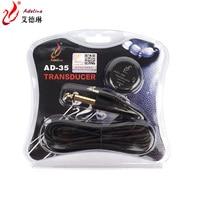 Adeline AD 35 Professional Piezo Contact Microphone Pickup For Guitar Violin Banjo Mandolin Ukulel Guitar Accessories