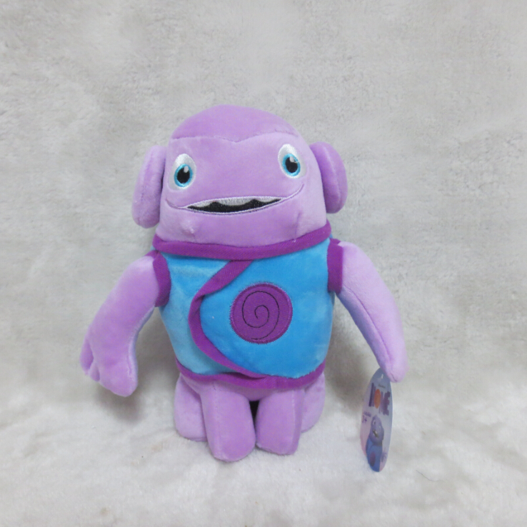 New Arrival! Dreamworks Home Movie Deluxe Oh 20cm Plush Toys