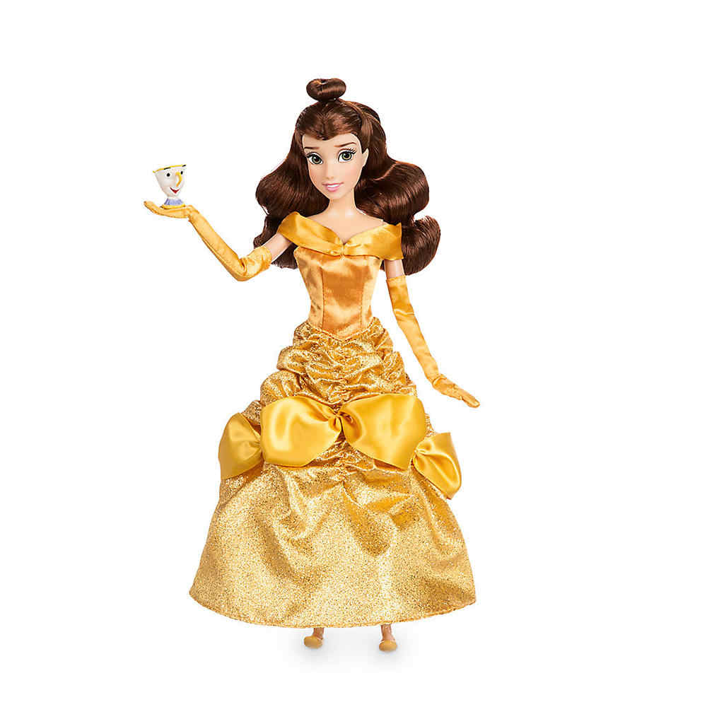 37e1c7521d ... Original DISNEY Store Fashion Princess Beauty and the Beast Belle  Classic doll Figure toys For children