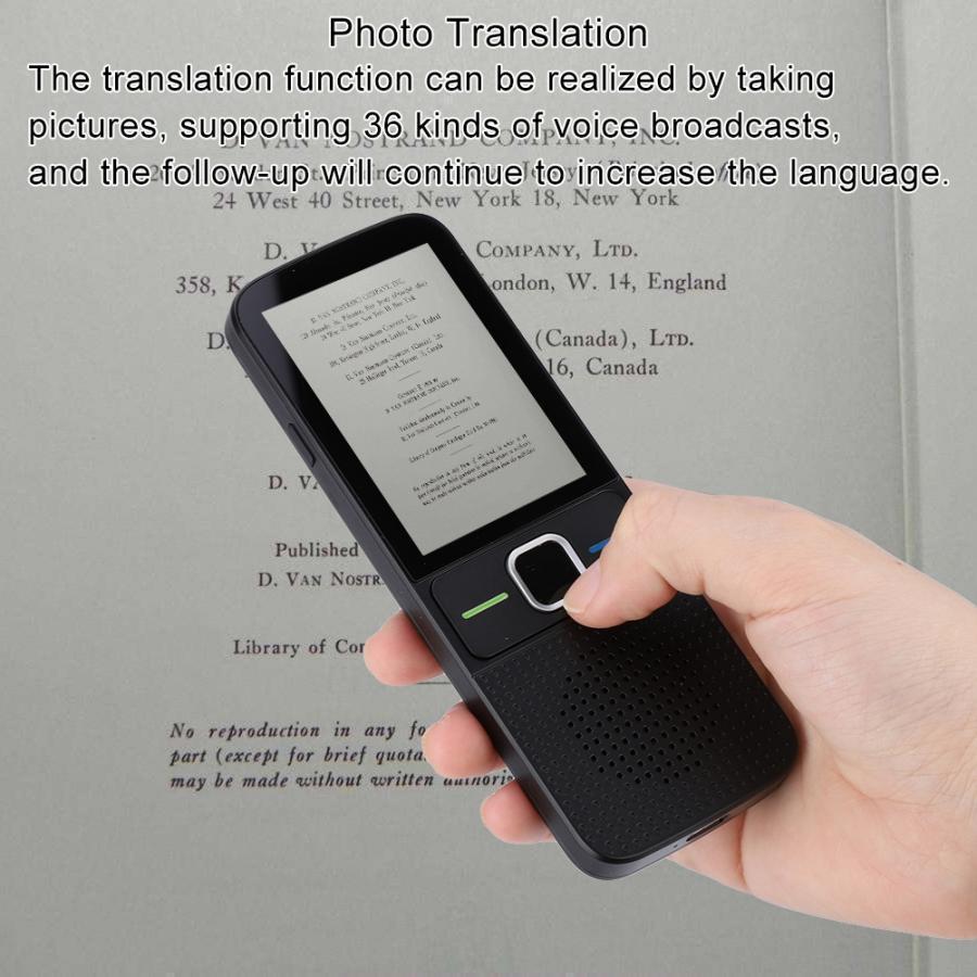 T10 translator Portable Handheld Smart Wireless Offline Two way Real Time Translator Multiple languages instant translate|Translator| |  - title=
