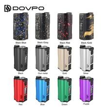 HOT sale!!! 200W DOVPO Topside Dual Top Fill TC Squonk MOD with 10ml Squonk Bottle E-cig Vape Box Mod VS / Drag 2 / LUXE S