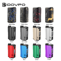 100% Original 200W DOVPO Topside Dual Top Fill TC Squonk MOD with 10ml Squonk Bottle E cig Vape Box Mod VS / Drag 2 / Naboo Mod