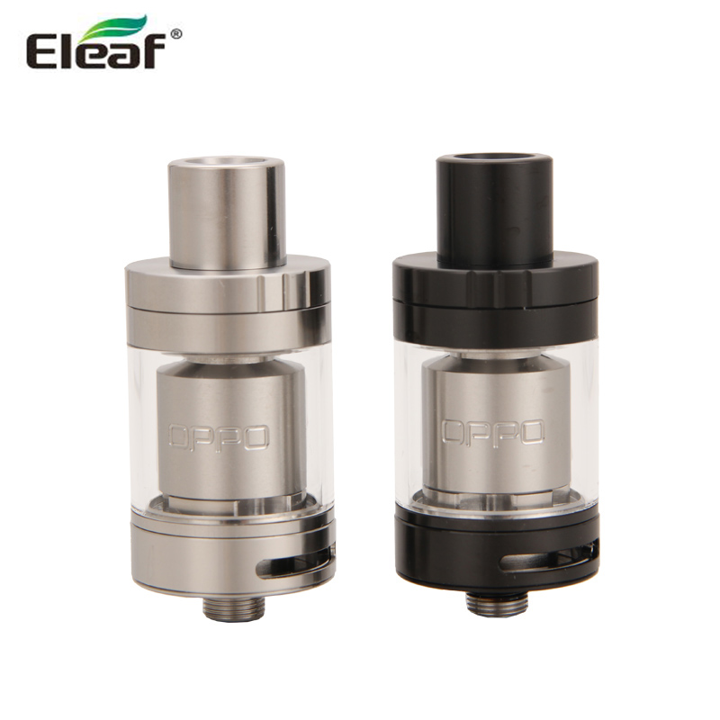 Original Eleaf OPPO RTA Tank 2ml Capacity Top Refilling Atomizer with Dual Post Wide Open Build Space Ecigarette Vaporizer cropped wide sleeve top
