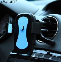 ULIFART Universal 360 Grados Giratoria Air Vent Mount Car Holder Soporte Del Sostenedor Del Soporte de Navegación GPS Car-styling Para Celular teléfono