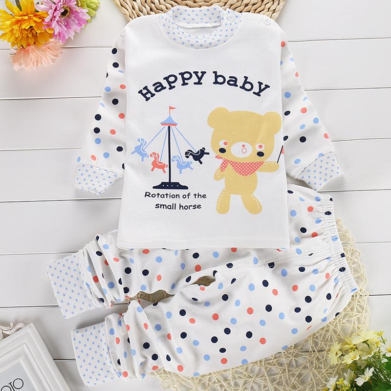 93ca88aa5a0f Cool Unisex Baby Animal 2-Piece Pajamas - DealBola.com