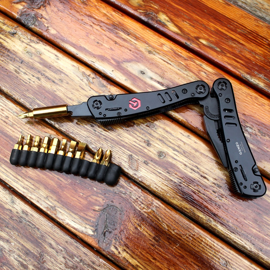 Ganzo nuga tööriistad G301B kokkuklapitav tang väljas - Käsitööriistad - Foto 5