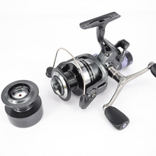 цена на Metal Head Fishing Reels Spinning Reels 13+1BB Back Brake Spinning Fishing Surf Reel Carp Front Rear Drag Brake Saltwater