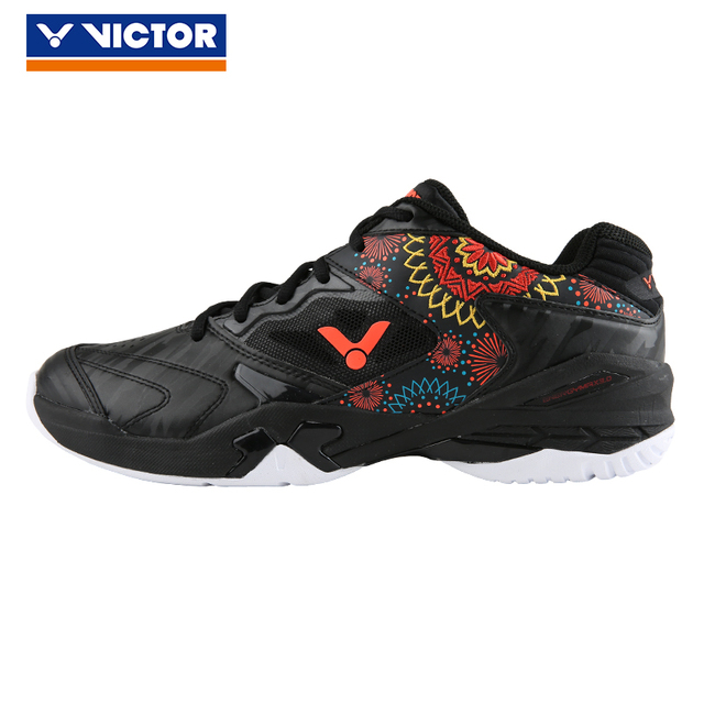 c267accb47711 2019 New Victor Professional Stable Embroidery Badminton Shoes P9200fl  Tennis Shoe Sports Sneakers
