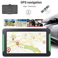 Vehemo 8 Inches Vehicle Navigation Sensors Car Navigator Map GPS Navigator for Universal Photography Electronic Album