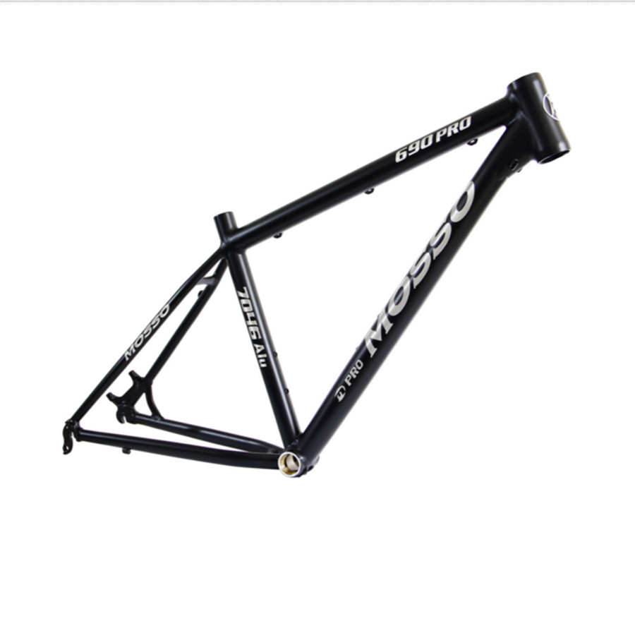 MOSSO 690 PROMTB bike frame aluminum alloy 1280 g 26X15 16 17 18 inch bicycle accessories MTB frame hot bike frame mtb authentic mosso 2608 aluminium alloy mountain bike 26 16 17 18 inch frame