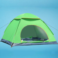 Gorąca Sprzedaż 2-3 Osoba Wodoodporna Odkryty Składany Namiot Namiot Camping Piesze Wycieczki Turystyczne Wysokiej Jakości Namiot Dla Sportu Na Świeżym Powietrzu