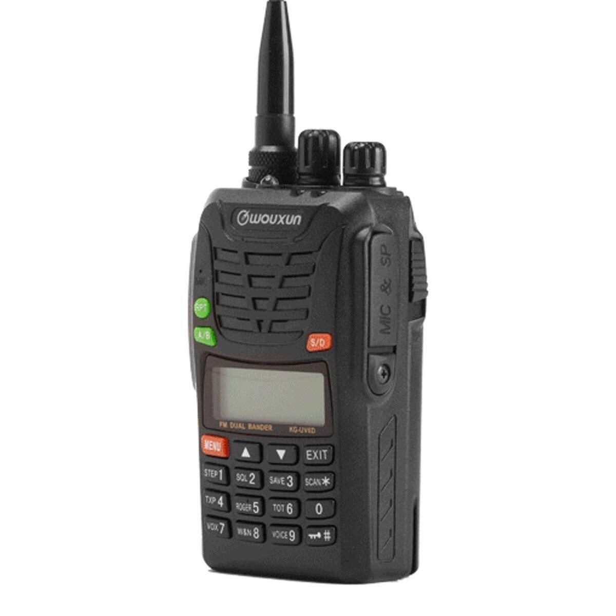 Wouxun KG-UV6D Double Bande Radio Bidirectionnelle avec 1700 mah Batterie CE FCC Approbation UV6D KG-UV6X UHF VHF Ham Radio longue Distance SOS
