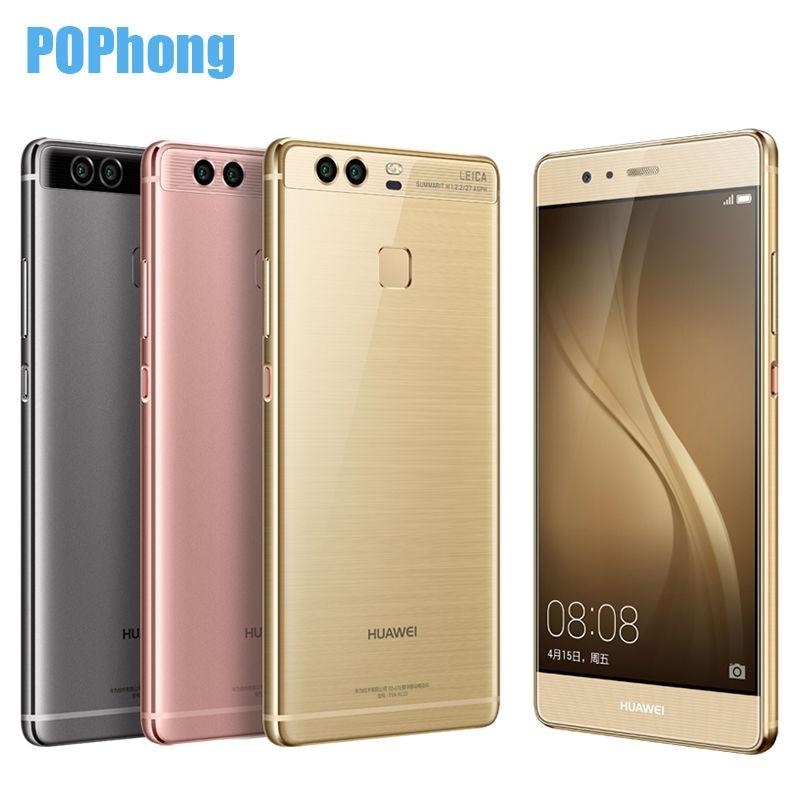 bilder für Original Huawei P9 Smartphone 4G RAM 64G ROM 5,2 Zoll Octa-core Lei-ca 12MP * 2 Kirin955 Fingerprint Kamera Dual SIM Android 6,0