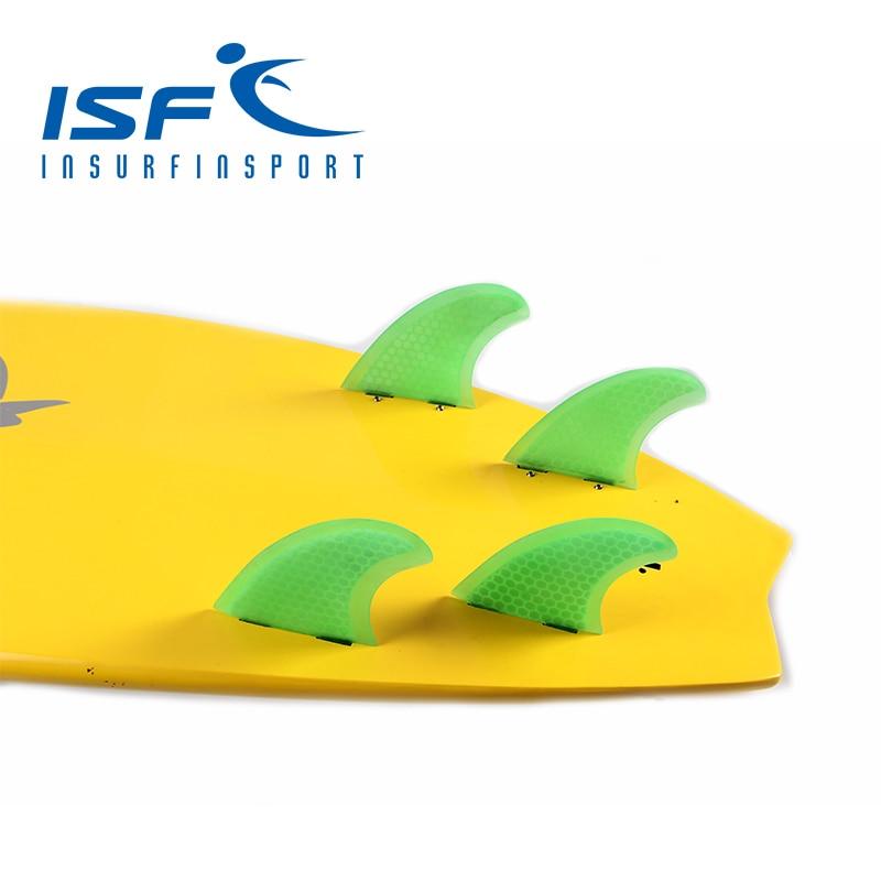 Green Quad FCS fins prancha quilhas de Surfboard fin/Surf Fins/Quad Fin  With Honeycomb Four Pieces Per Set цена 2016