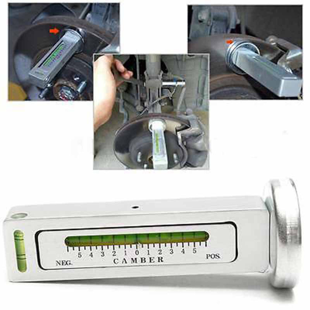 Car Truck Aadjustable Magnetic Gauge Tool Camber Castor Strut Wheel Alignment