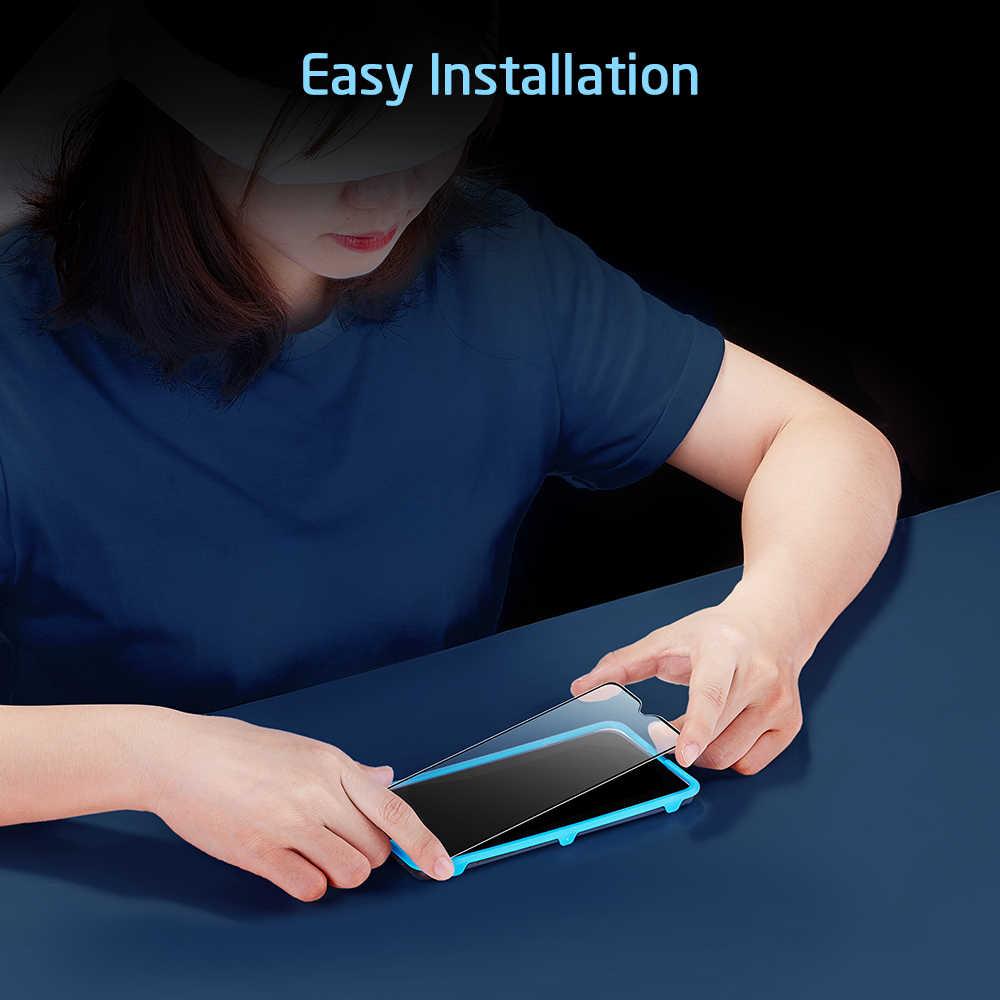 OnePlus 7 3D 전체 커버 유리 필름 케이스에 대 한 ESR 화면 보호기 유리 OnePlus 7 프로에 대 한 친절한 안티 Bluray 강화 유리
