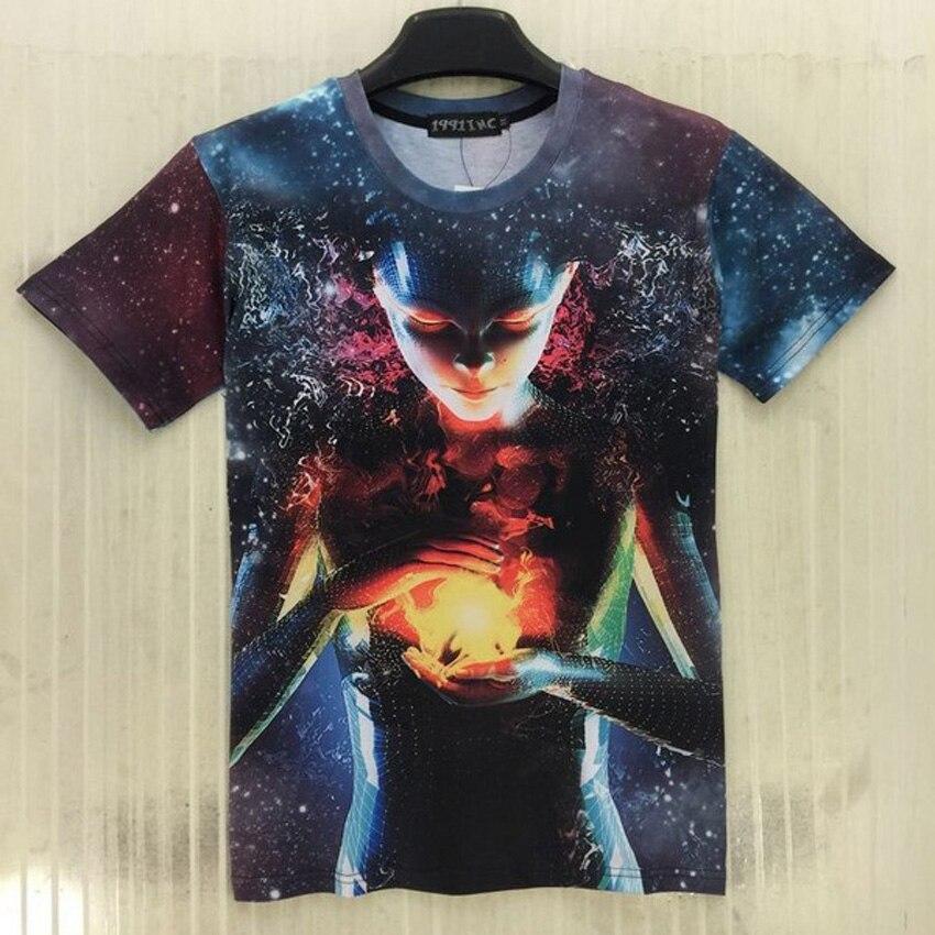 Mr.1991 12-20 lat nastolatki chłopca koszulka najnowszy mody 3D - Ubrania dziecięce - Zdjęcie 2