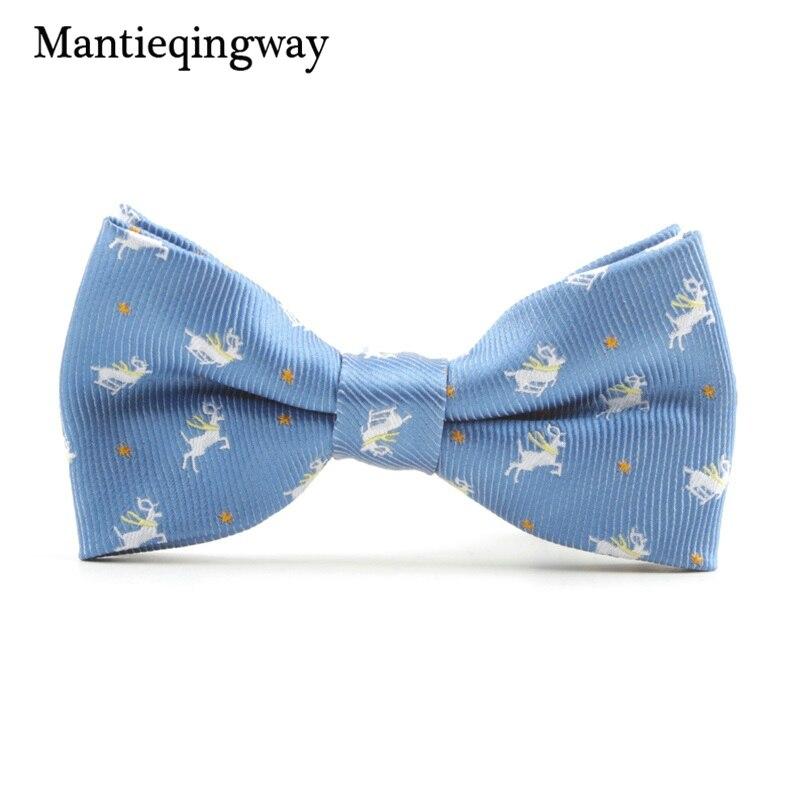 MXR068192  Mantieqingway Cartoon Kids Bow Ties for Child Fits Animals Sample Butterflies Collar Bowtie for Boys Woman Youngsters Cravat Tie HTB1mjw3XGLN8KJjSZFGq6zjrVXaf