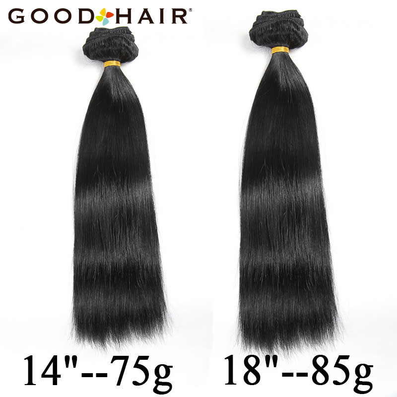 Good hair clip in human hair extensions natural black 7 piecesset good hair clip in human hair extensions natural black 7 piecesset clip on hair 14 18 brazilian remy straight hair in clip in full head from hair pmusecretfo Images