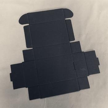 9.4*6.2*3cm Black Paper Packing Box Jewelry Box Soap Box Gift Packing 200pcs\lot Free shipping
