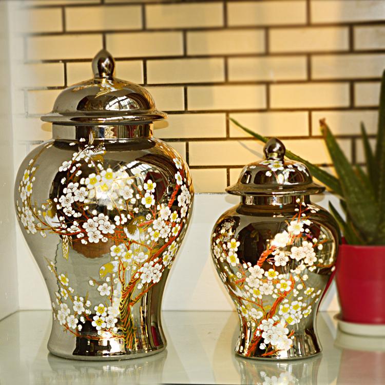 Jingdezhen-ceramic-Antique-Porcelain-temple-jar-wholesale-vase-ceramic-decorative-ginger-jar-