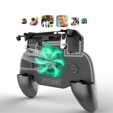 L1R1 Game Shooter Mobile Phone Gamepad Game Joystick Controller Ultra Portable Grip Holder With mute heat dissipation fan