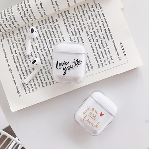Image 4 - Case for Airpods Cute Earphone Case For AirPods 1 2 Cartoon Wireless airpods Accessories for Airpods Transparent Hard PC Cover