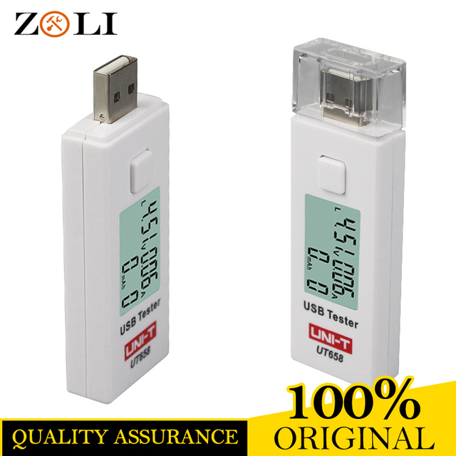 UNI T UT658 USB Tester Phone Computer Charging Detector Voltage ...